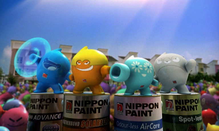 Nippon Paint Blobbies