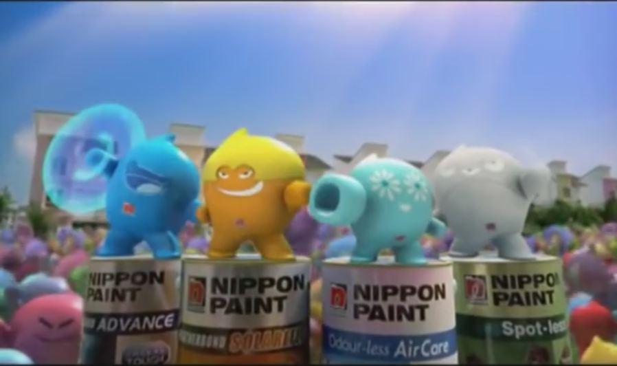 Nippon Paint Blobbies