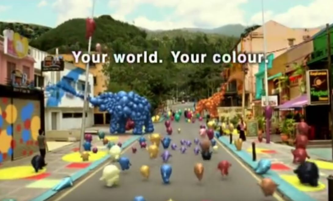 Nippon Paint Blobby - Your world your color